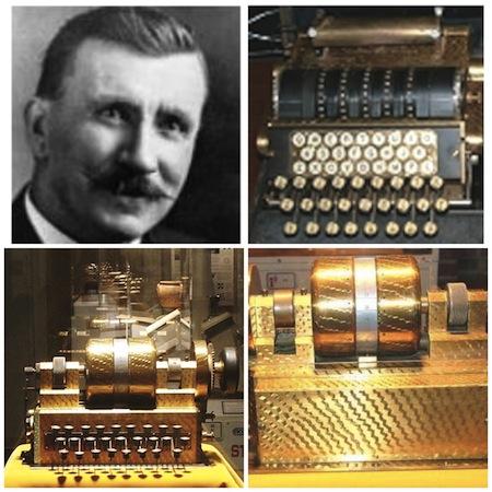 1952: Inventor Edward Hebern died.