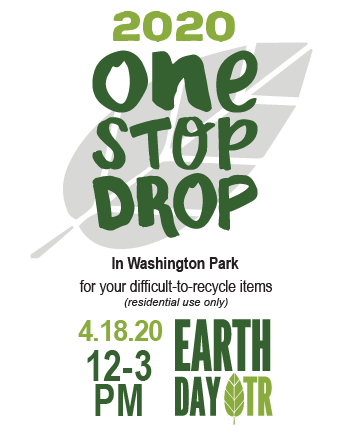 One Stop Drop Recycling At Earth Day!