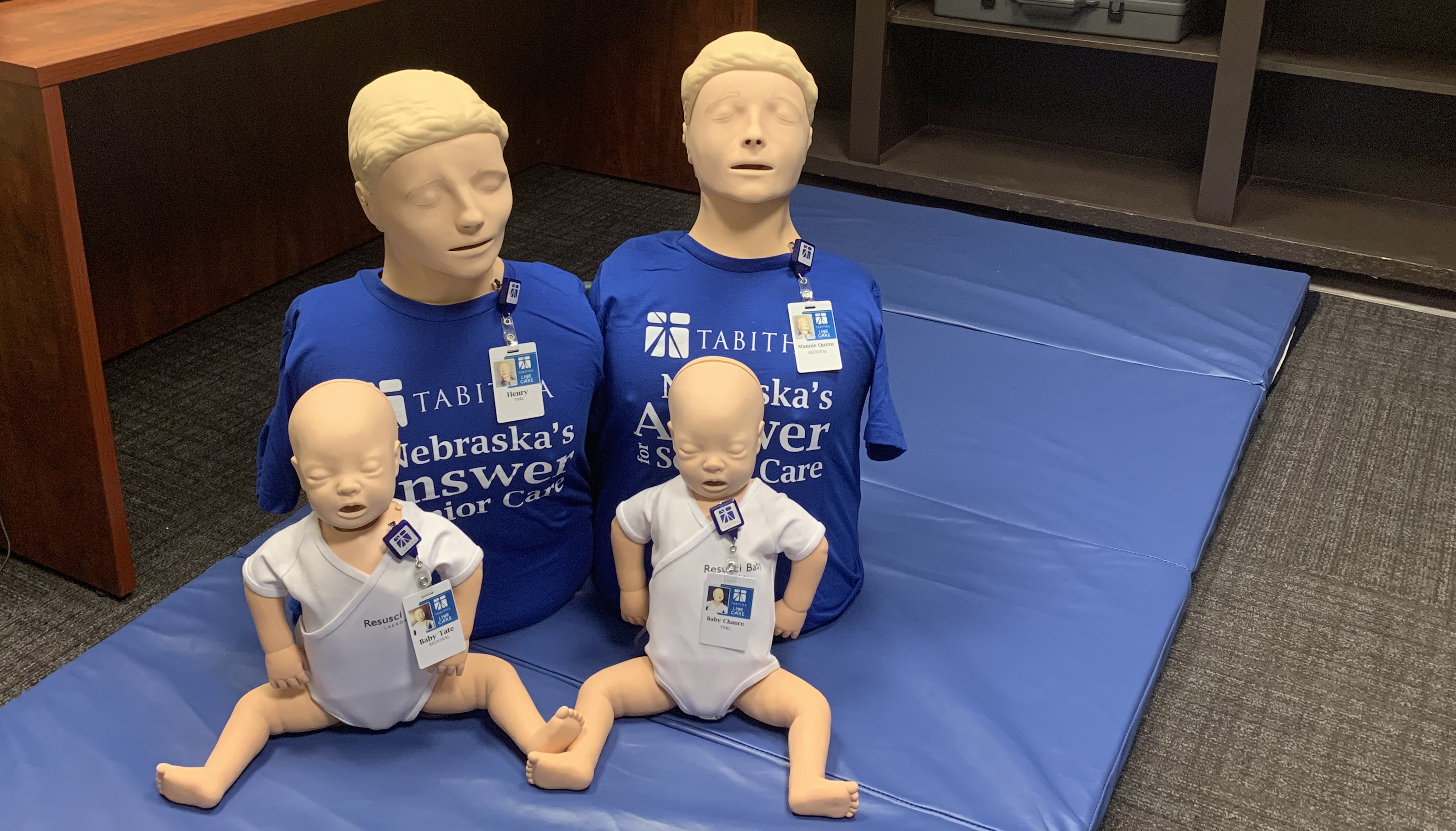 CPR Lab Voice Activated Manikins