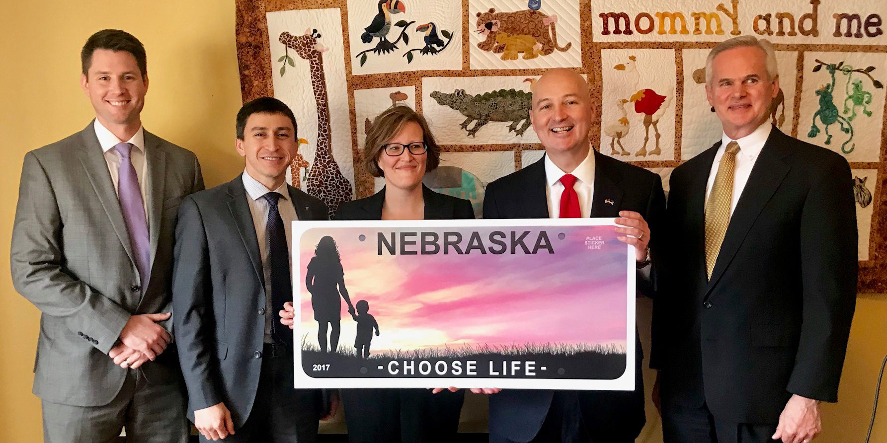 Choose Life license plates available now!