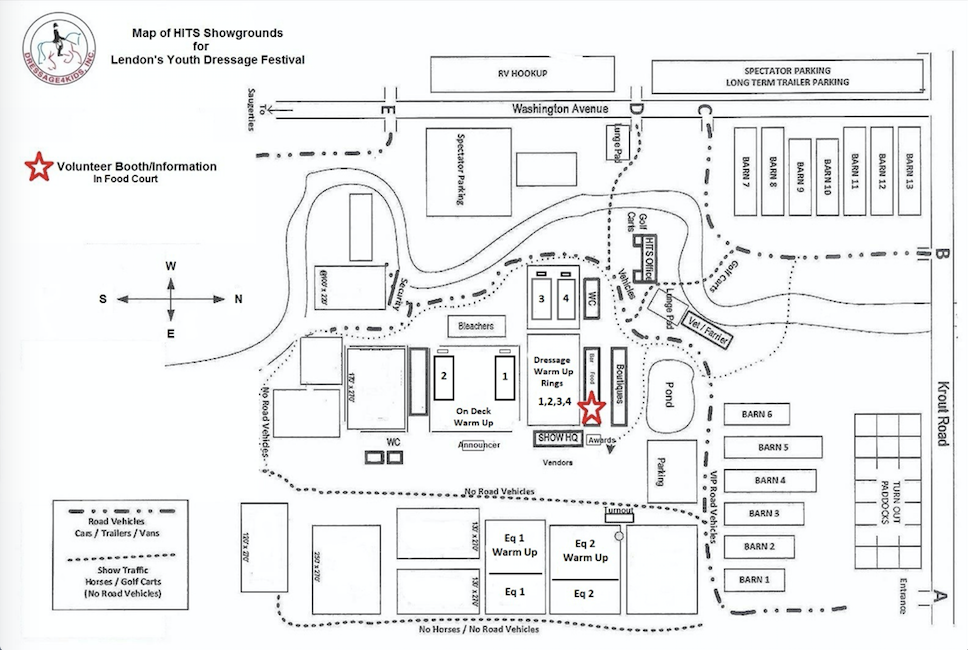 Click here for downloadable pdf map of the showgrounds