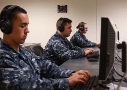 Morse code: A staple in the Navy IW toolkit.