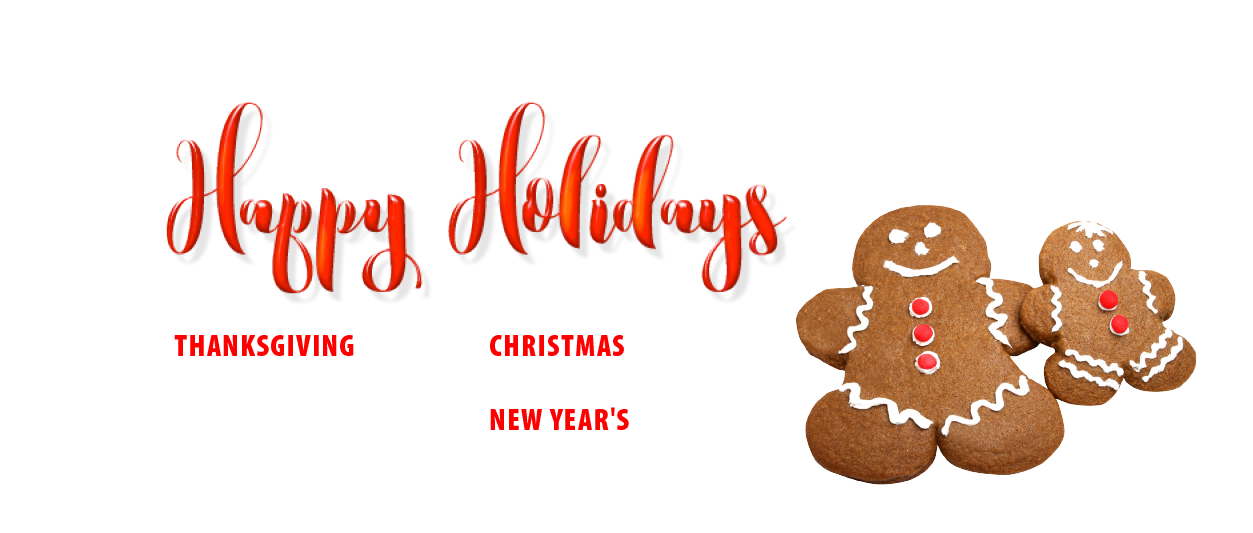 Happy Holidays 2016 Closures