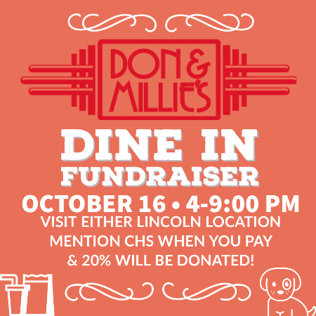 Dine In Fundraiser Night