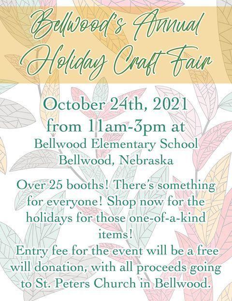 Bellewood's Annual Craft Fair