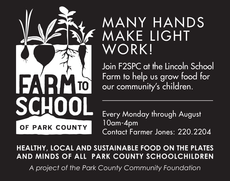 Mondays at the Lincoln School Farm - Farm to School of Park County