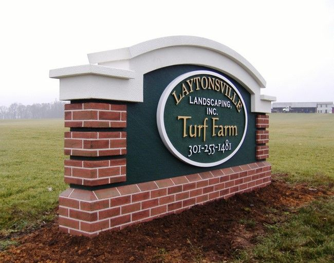 O24002 - Farm Entrance Monument Sign