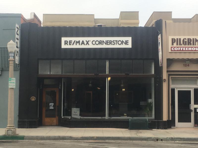 3D Letter Building Signs Downtown Fullerton CA