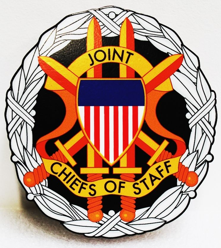 IP-1105 - Plaque of the DoD Joint Chiefs of Staff (JCS), Giclee
