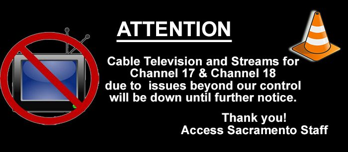Television and Stream down image