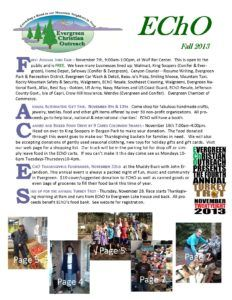 2013 Fall Newsletter