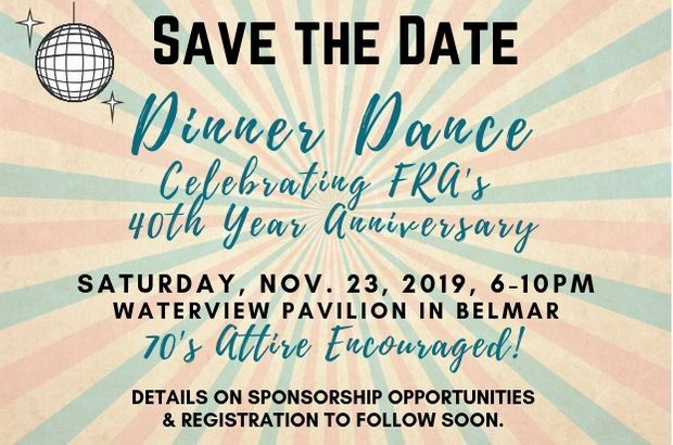Save the Date DINNER DANCE