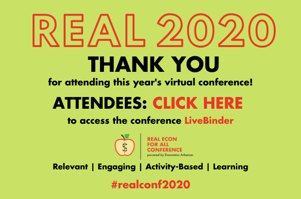 THANK YOU for attending REAL Econ for All Conference 2020