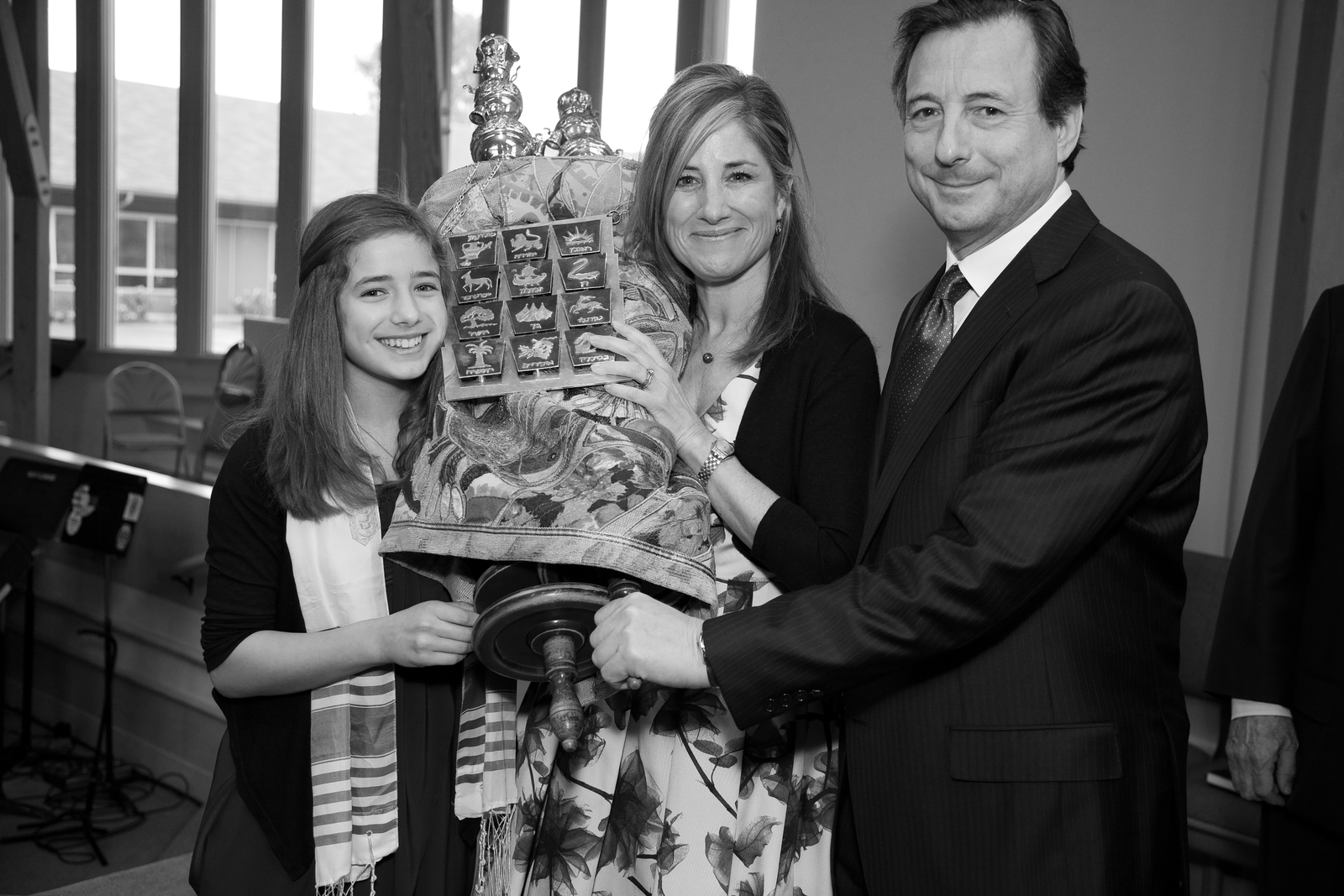 Patty and family at her daughter's bat mitzvah.
