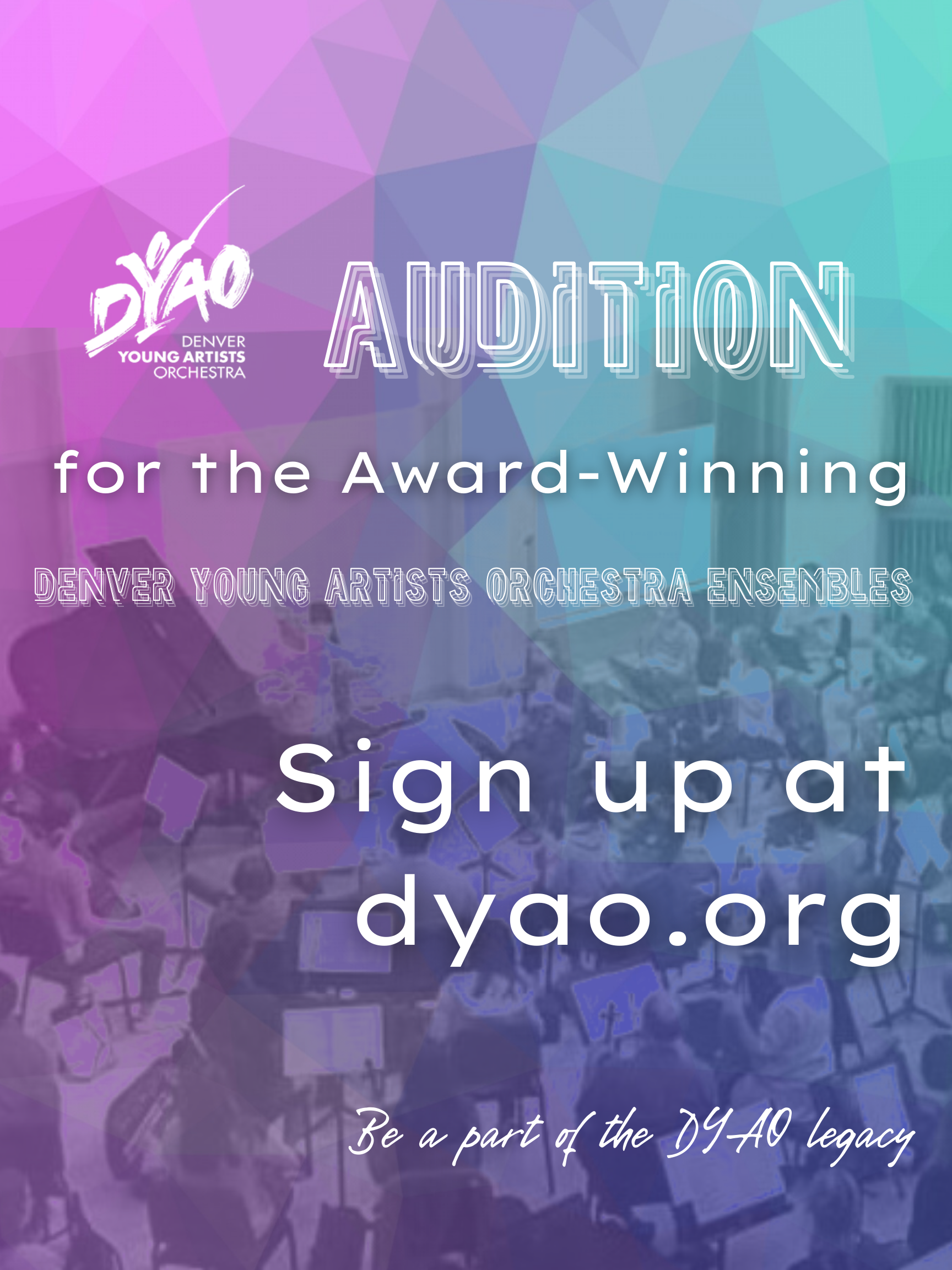 DYAO Auditions 2021-2022 Season