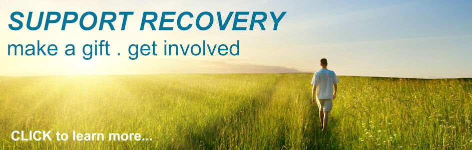 Support recovery by making a gift today