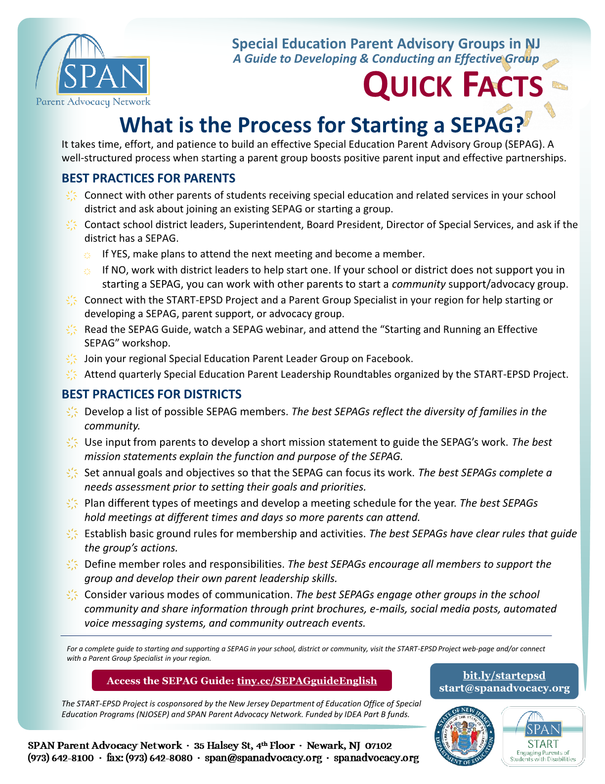 What is the Process for Starting a SEPAG? | Quick Guide