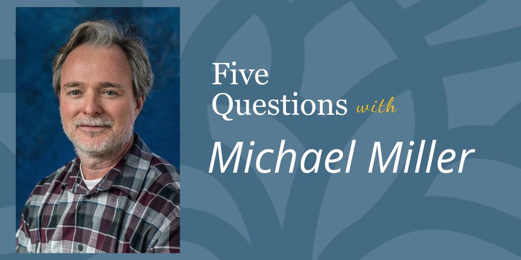 Michael Miller, LMFT, Chief Program Officer