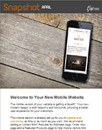 April Snapshot: Yes! Your Mobile Website is Getting Even Better