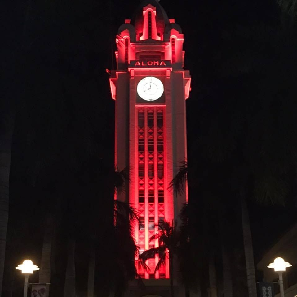 World Hemophilia Day- Aloha Tower