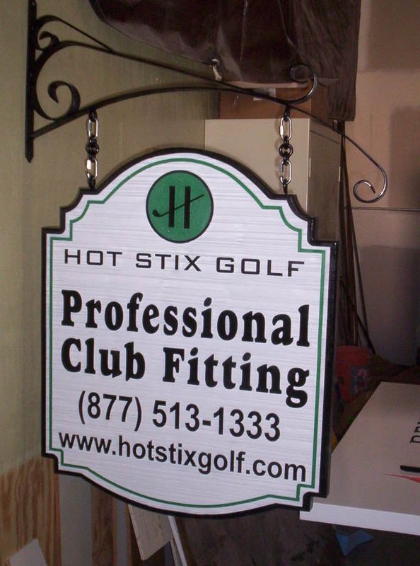 M1302 - Entrance Sign for Golf Business (Gallery 14)