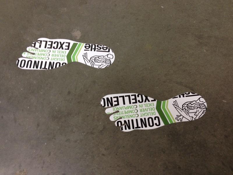 Vinyl Floor Graphics And Decals Orange County And Los Angeles Ca - Custom vinyl stickers los angeles