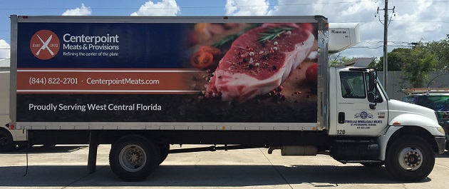 Large Box Truck Graphics