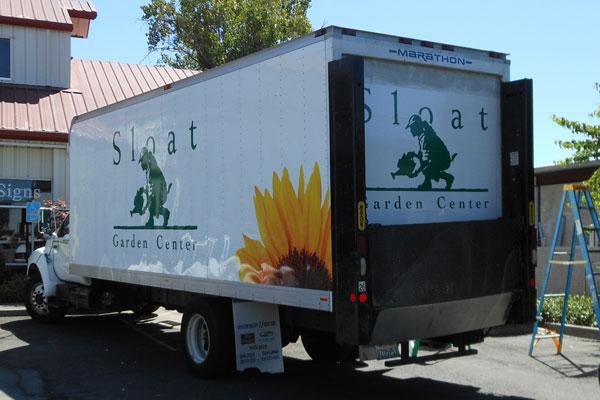 Sloat Garden Center Truck