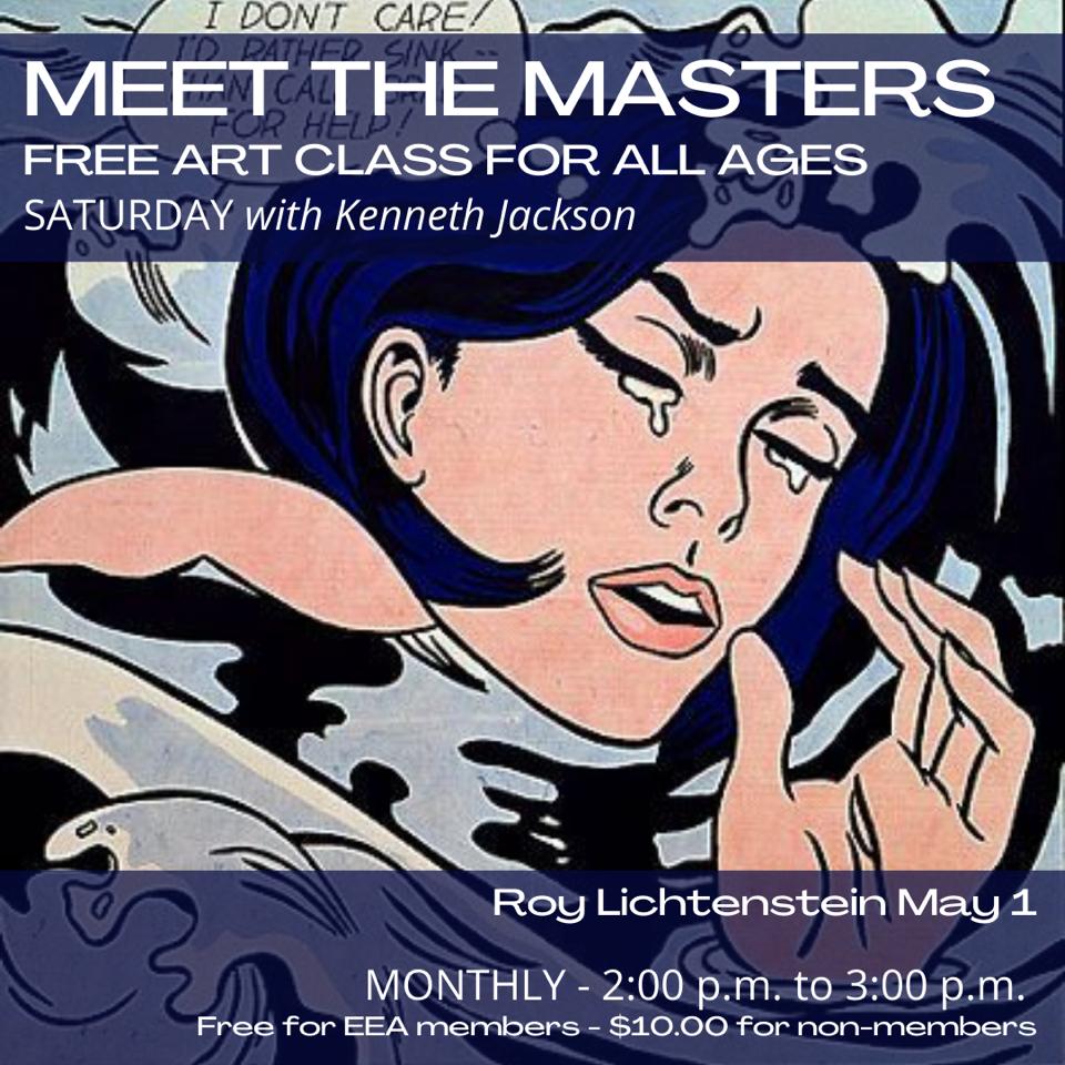 Meet the Masters FREE Art Class - Roy Lichtenstein