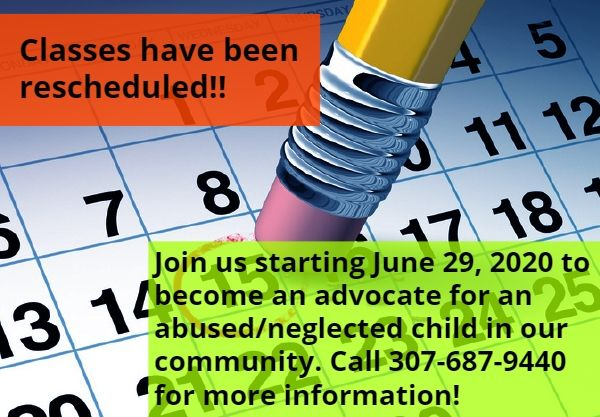 New class date for June!