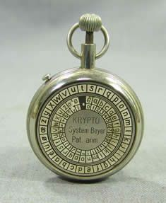 Beyer Cipher Pocket Watch