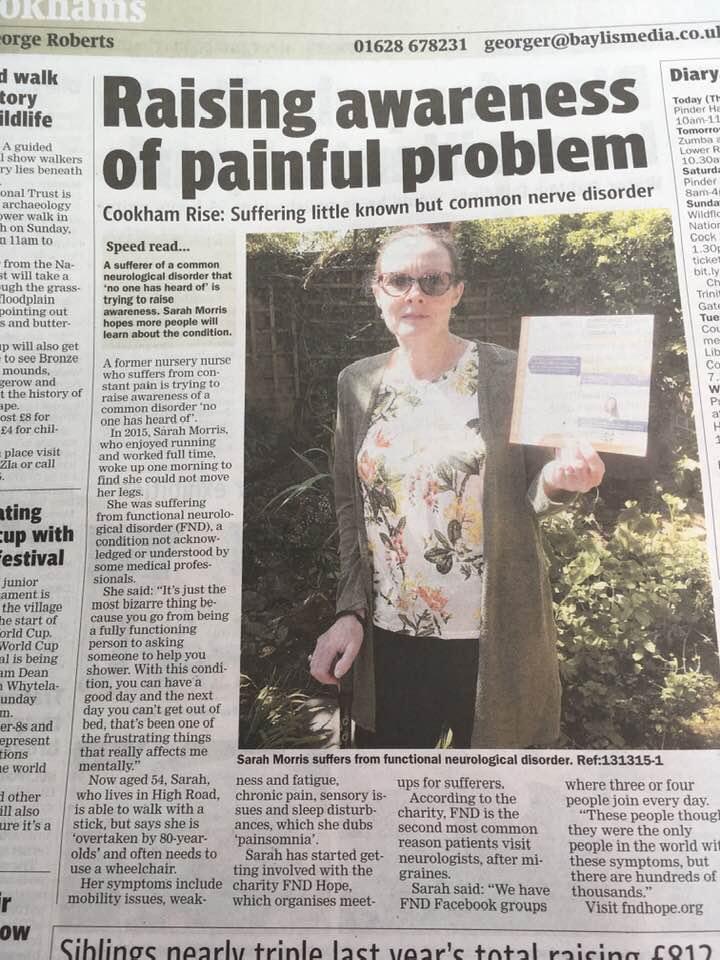 Raising Awareness of Painful Problem