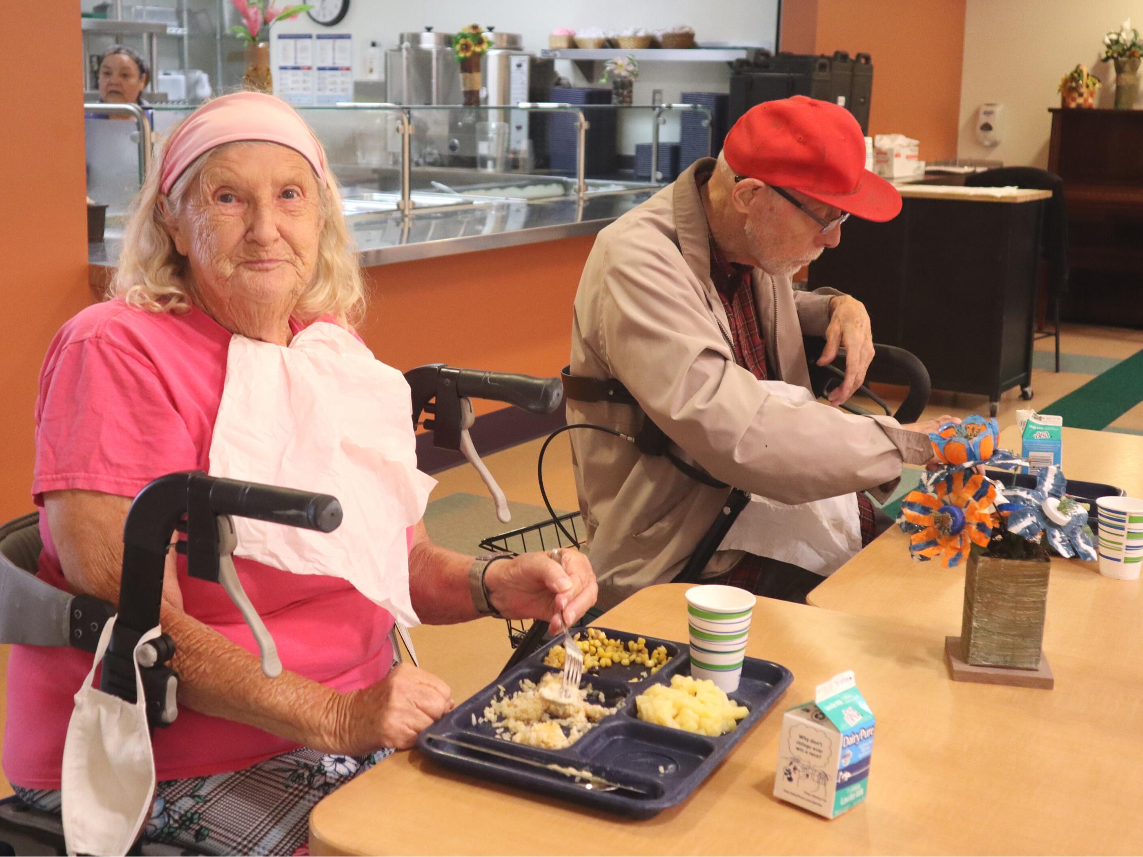 Feed a senior facing hunger
