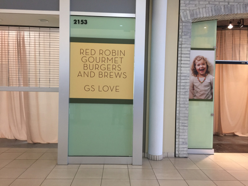 Mall Window Graphics