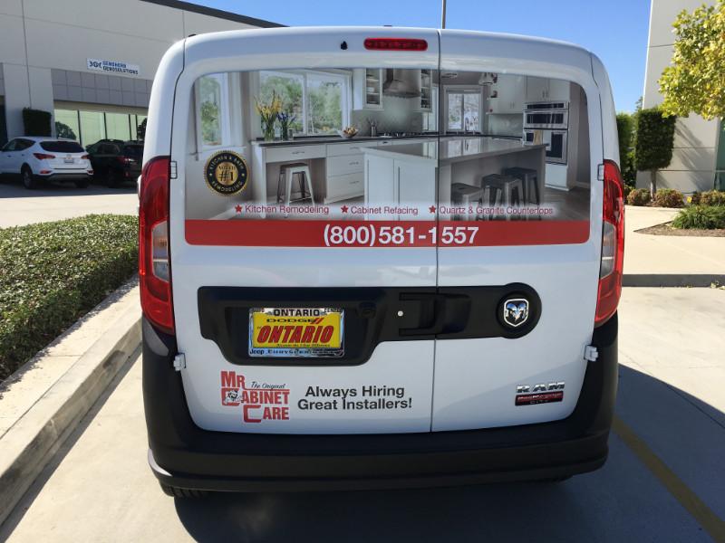 Low-Cost van wraps in Anaheim CA