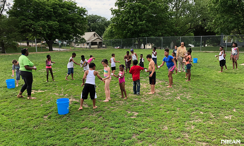 Central Park After-School Program Water Day