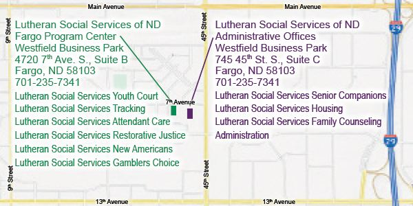 Lutheran Social Services moves to interim offices in Fargo