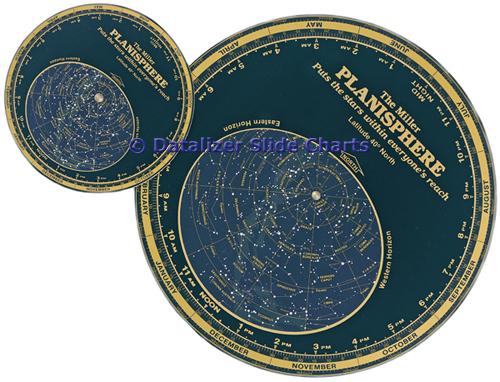 Miller Planisphere Wheel Chart