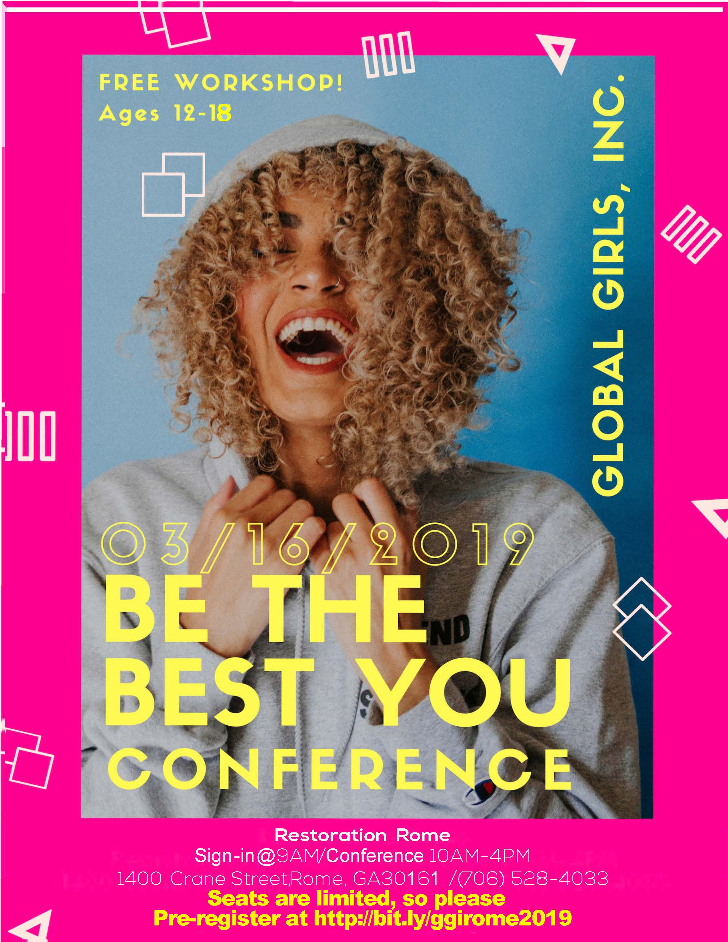 "Global Girls ""Be the Best You"" Conference"