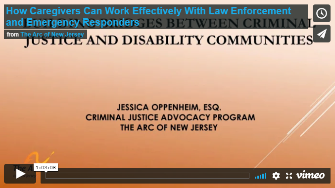 How Caregivers Can Work Effectively With Law Enforcement and Emergency Responders