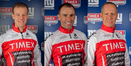 "Men's Health Podcast | ""We chat with 3 champion triathletes on the Timex Multisport Team: Chris Thomas, Luis Alvarez, and Tim Hola. "" 