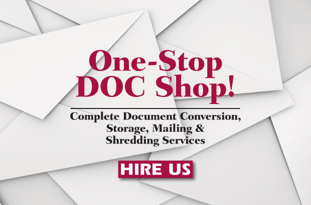We Can Mail, Scan, Shred & Store