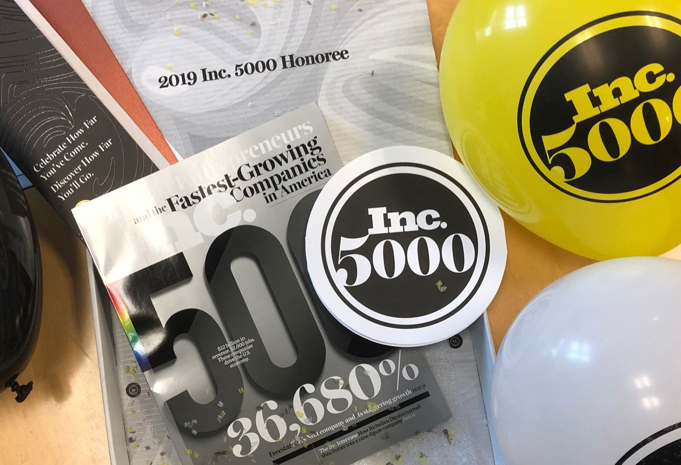 Inc. 5000 for Fourth Straight Year!
