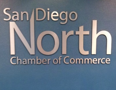 Chamber of Commerce Lobby Sign