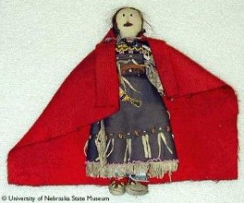 Plains Blackfoot doll