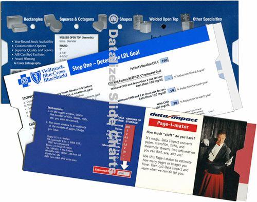 Folded Paperboard Reference Slide Guides