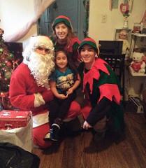 Santa Visits to FRA Families