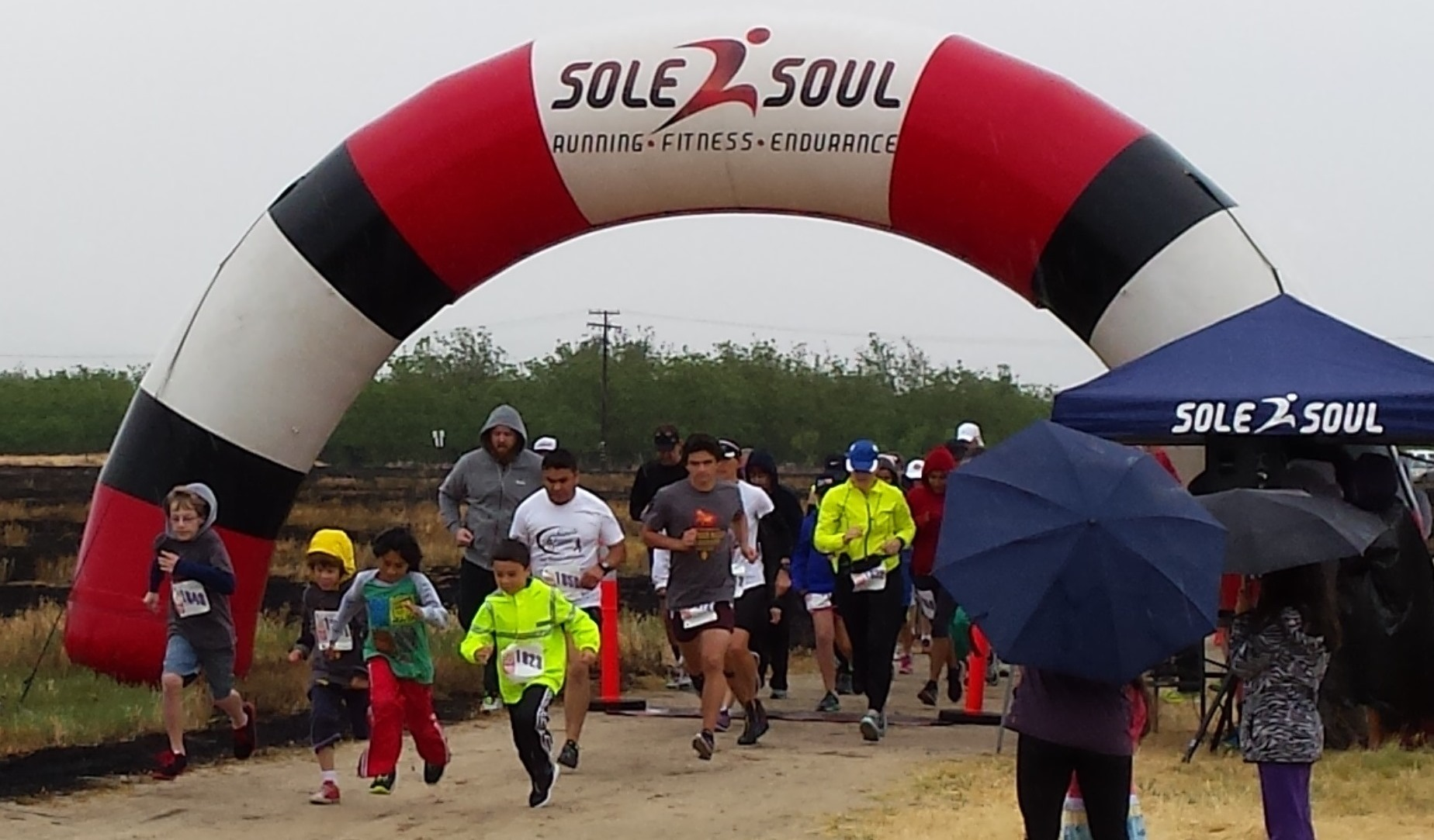 Sasquatch Scurry 5K race
