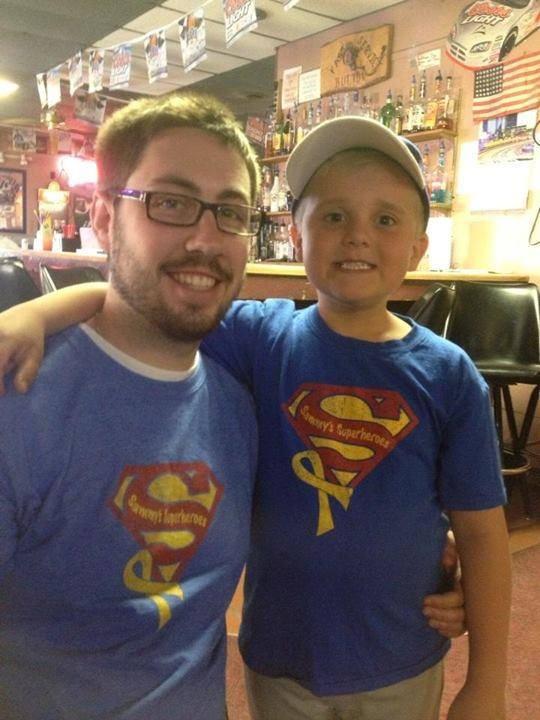 Duren Birthday Boys sporting their Sammy shirts!