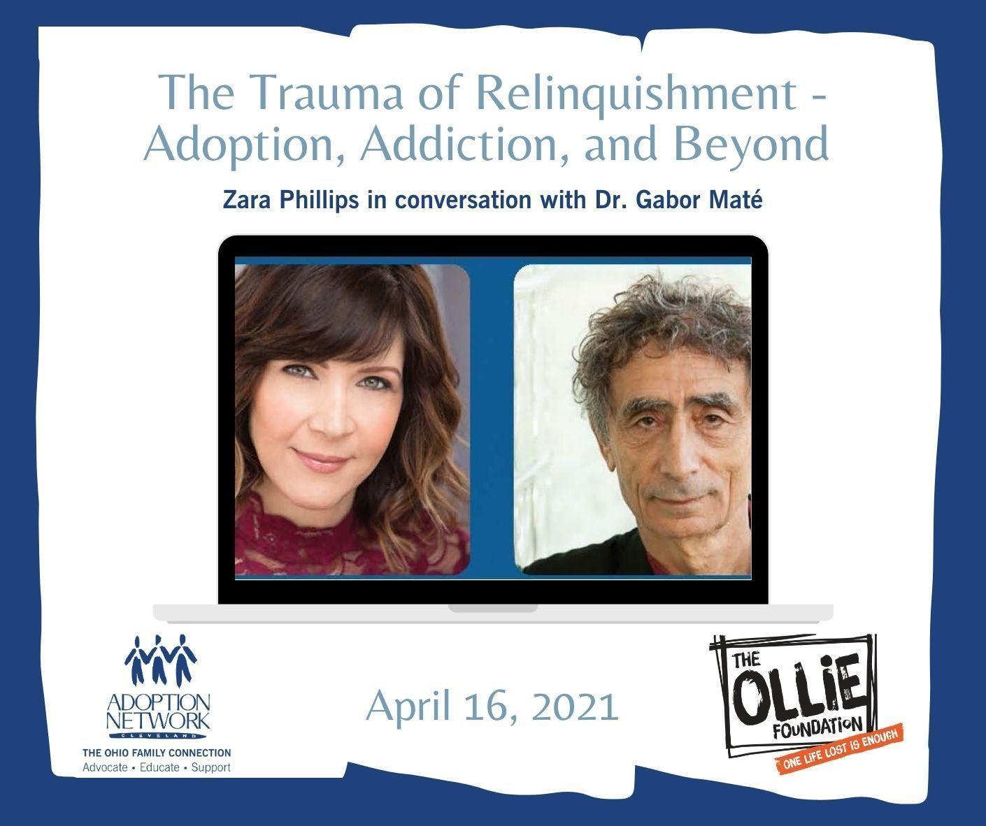 The Trauma of Relinquishment - Adoption, Addiction & Beyond